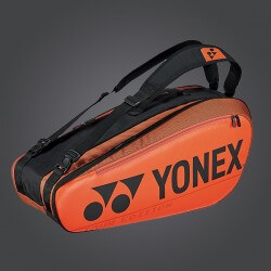 YONEX - NEW PRO RACKET BAG 92026EX (6PCS) - COPPER ORANGE