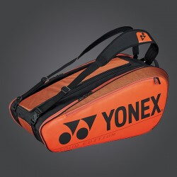 YONEX - NEW PRO RACKET BAG 92029EX (9PCS) - COPPER ORANGE