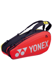 YONEX - NEW PRO RACKET BAG 92026EX (6PCS) - RED / YELLOW
